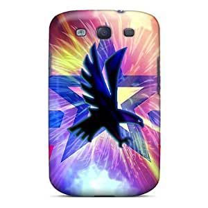 CADike Galaxy S3 Well-designed Hard Case Cover Eagle And Stars Protector