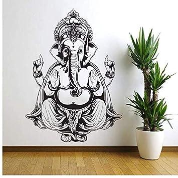 Wangyy Tres Tatuajes De Pared De Elefante India Mandala Buda Om ...