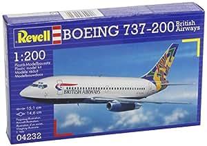 Boeing 737-200 British Airways Airliner 1/200 Revell Germany