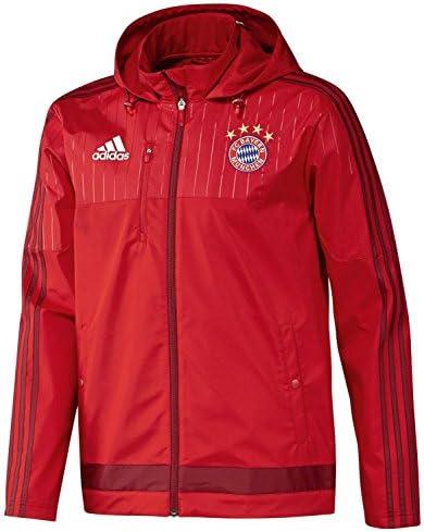adidas Jacke FC Bayern Softshell Jacket Chándal, Hombre, Rojo, XS ...