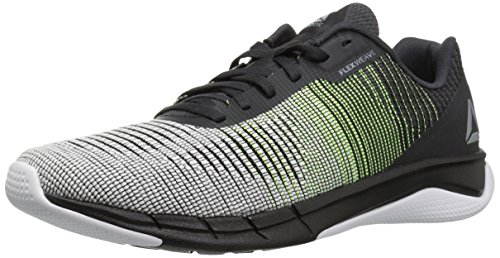 Reebok Men's Fast Flexweave, Alloy/Electric Flash/Coal/White, 12.5 M US