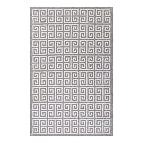 Greek key rug 8x10