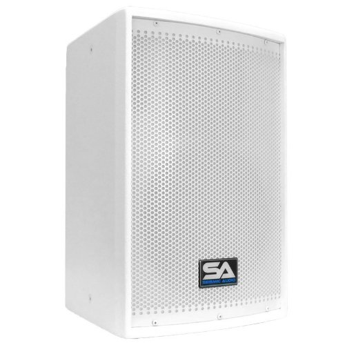 Seismic Audio - Arctic 10 - White 10'' PA Speaker or Floor Monitor - 200 Watts RMS by Seismic Audio