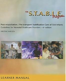 Textbook of neonatal resuscitation nrp 9781610020244 medicine the stable program learner provider manual post resuscitation pre transport fandeluxe Choice Image