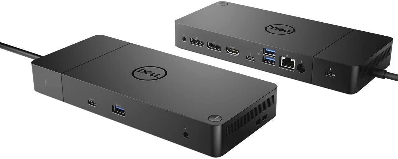 New Thunderbolt Dock WD19TB, The Ultimate connectivity for XPS 9370 9380 13 9365 7390 9575 9570 7590 Precision 5530 2-in-1 7730 7530 Latitud 7400 7390 7389 Plus Premium Best Notebooks Stylus Pen Light