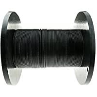 2 Fiber Indoor/Outdoor Fiber Optic Cable, Multimode, 62.5/125, Black, Riser Rated, Spool, 1000 foot