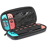 AmazonBasics Carrying Case for Nintendo Switch and Accessories - Black