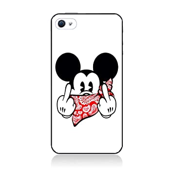 Coque Personnalisable Coque Pour Iphone 4 4s Mickey Dessin