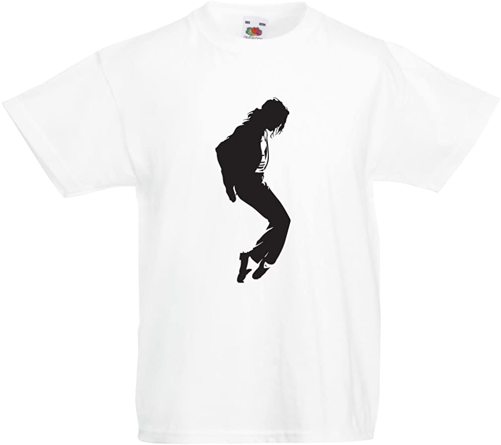 lepni.me Camiseta para Niño/Niña Me Encanta MJ - Ropa de Club de Fans, Ropa de Concierto