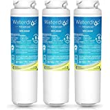 Waterdrop NSF 53&42 Certified MSWF Refrigerator Water Filter Replacement for GE MSWF, 101820A, 101821B, 101821-B, Advanced Series, 3 Pack