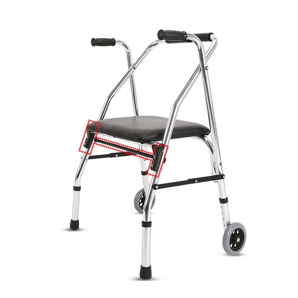 トイレシート 高齢者に適した多機能歩行補助車輪付きノンスリップ防水折りたたみ式身体障害者用 B07DN3157J