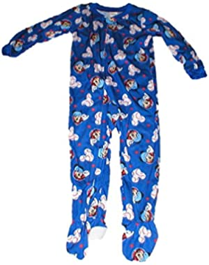 Mickey Mouse Toddler Boys Footed Blanket Sleeper Pajamas 3t
