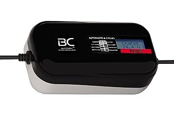 BC PLUS 4000-24V 4A - Cargador y Mantenedor de Baterías Digital con 8 Fases de Carga para Baterías 24V de Camiones, Furgonetas y Embarcaciones