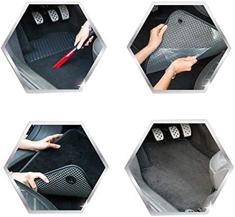 DBS 1765838 Alfombrillas de coche - Antideslizante Modelo Elite A medida Alfombrillas para coche 4 uds Aspecto terciopelo Moqueta en negro 900 g//m/²