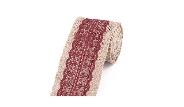 Amazon.com: eDealMax ropa Para el hogar Silla Vestido Caja de Regalo de la decoración DIY de Coser Rollo de Cinta 2.3 yardas Carmine: Health & Personal Care
