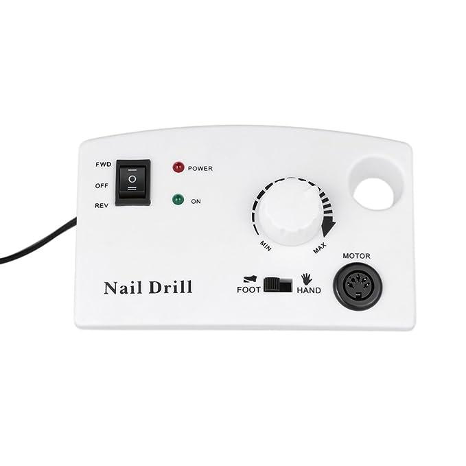 Anself eléctrica uñas Taladro Máquina Pulidora de manicura pedicura Master uñas Amoladora puntas Kit: Amazon.es: Belleza