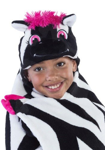 WPM Queen Blanket Sumptuously Soft Plush Black Zebra Animal Print Blankets/Reversible (Zebra Print Cozy Cover)