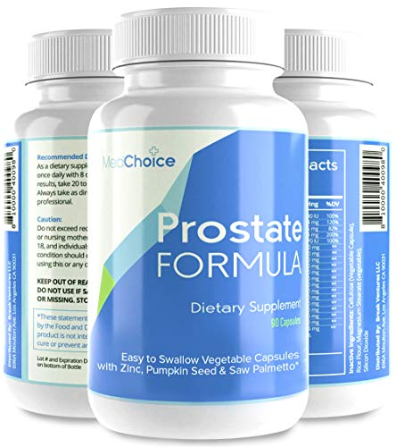 Med Choice Optimum Prostate Formula, Prostate Supplements for Men, Prostate Support Softgel Capsules (90-Count), Enhanced Saw Palmetto Prostate Supplement for Better Urinary Flow & Hair Growth