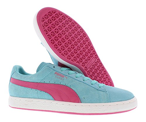 Puma Suede Pink And Blue