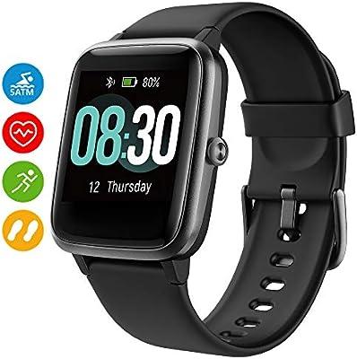 UMIDIGI Reloj Inteligente Uwatch3 Smartwatch 5ATM Impermeable con ...