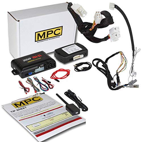 MPC 5-Button Keyless Entry Remote Start Kit for 2016-2019 Honda Civic - T-Harness - w/FlashLink Updater - Firmware Preloaded