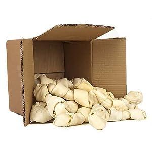 Top Dog Chews TDC0116RB 8″-10″ Rawhide Bones-Kennel Pack-Large Bones from, 16 Pack