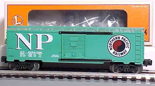 6464 Series Boxcars - Lionel #6464-396 North Pacific Boxcar