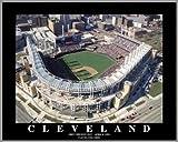 Cleveland Indians Progressive Field Framed Aerial Photo F9988