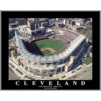 Amazon Com Cleveland Indians Progressive Field Framed