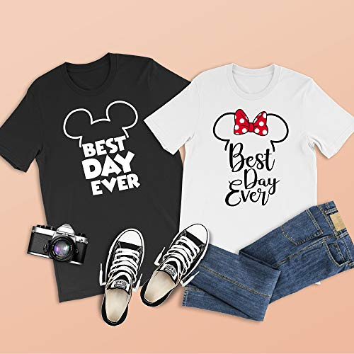 Best Day Ever Mickey Shirts, Magic Kingdom Shirts, Disney Honeymoon, Disney Cruise, Epcot Shirts, Mickey and Minnie, Couples Disney Shirts