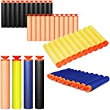 GFDay Universal Standard Foam Darts 7.2cm Refill Bullet Suction Darts for Blasters, Toy Gun Refill Pack (Yellow, 100 pcs)