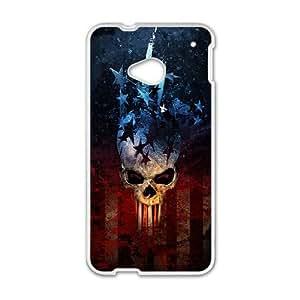 Diablo HTC One M7 Cell Phone Case White SH6072816