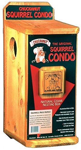 Chuckanut Products 00004 Squirrel Condo (Chuckanut Squirrel Food)