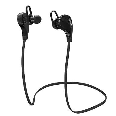 Ecandy inalámbrico Bluetooth cancelación de ruido auriculares con micrófono