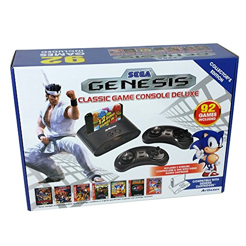 Sega genesis classic game console deluxe collector 39 s - Sega genesis classic game console games ...