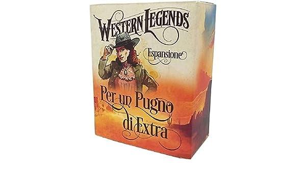 MSEDIZIONI Western Legends - Expansion 2 - Fistful of Extras - Board Game in Italian: Amazon.es: Juguetes y juegos