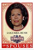 Decision 2016 #53 Columba Bush Politics Trading Card