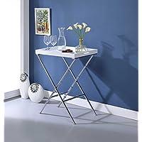 HomeRoots Furniture 286464-OT Tables, Multicolor