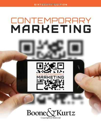 Contemporary Marketing (Contemporary Business 16th Edition By Boone And Kurtz)