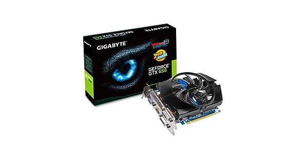 Amazon.com: Gigabyte GeForce GTX 650 OC – Tarjeta gráfica (2 ...