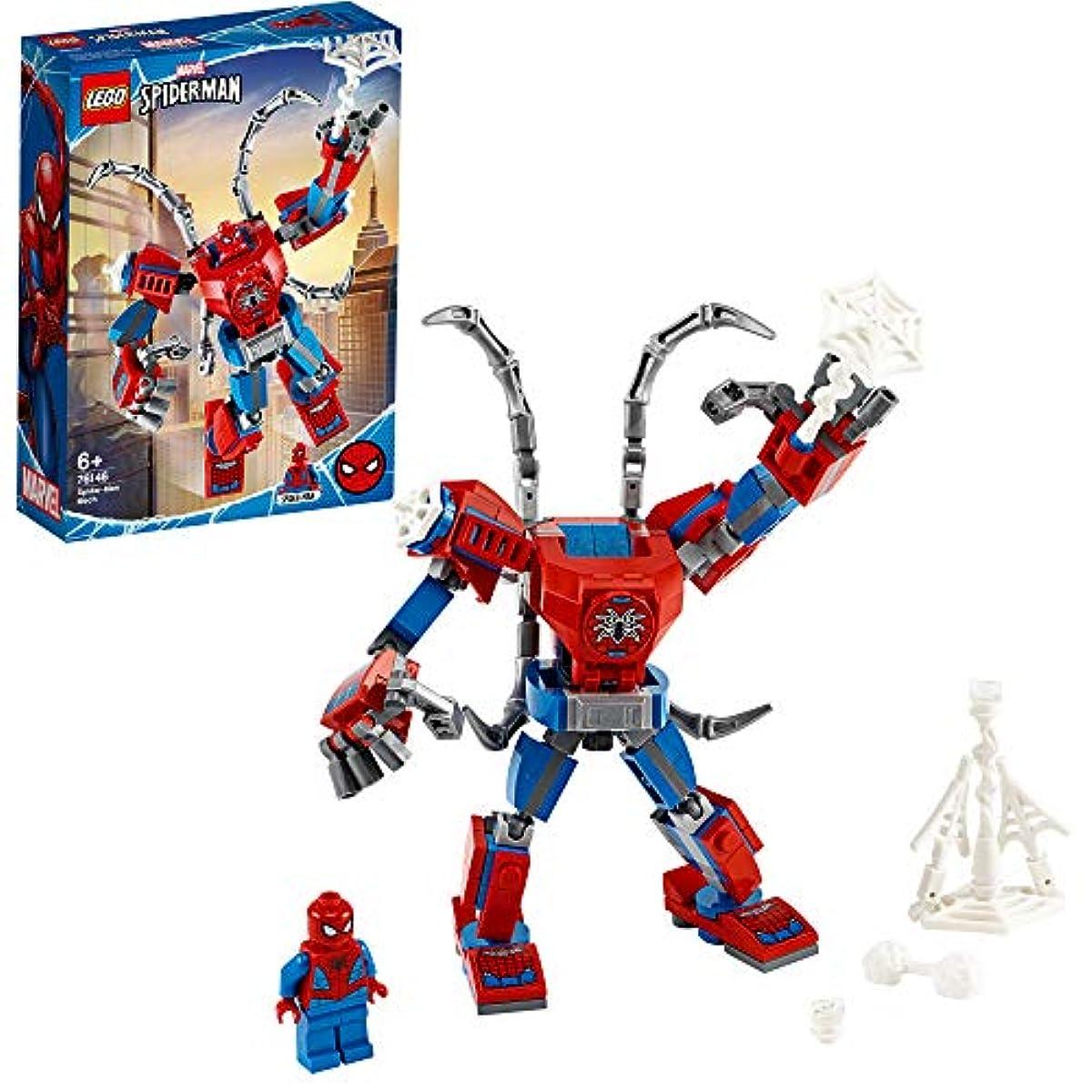 [해외] 레고(LEGO) 슈퍼히어로즈 스파이더맨 맥 로봇 76146
