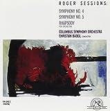 Sessions: Symphony No. 4; Symphony No. 5; Rhapsody