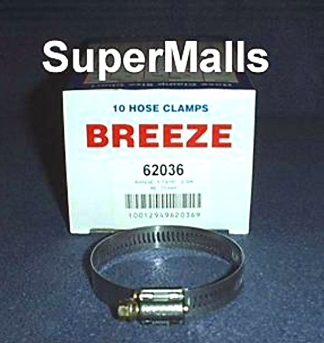 Breeze UPT-62036 Industrial General Purpose Hose Clamp 1-13/16 inch - 2-3/4 inch