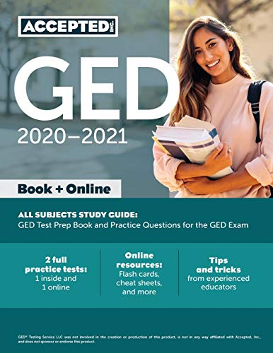 GED Study Guide 2020-2021 All Subjects: GED Test