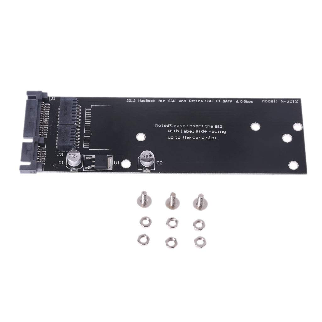 Liaobeiotry - Adaptador SSD a SATA para MacBook Air A1465 A1466 ...