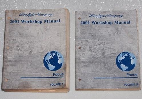 2001 ford focus workshop manual 2 volume set amazon com books rh amazon com Professional Workshop Manuals Ford Workshop Manuals