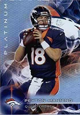 2015 Topps Platinum #18 Peyton Manning Denver Broncos Football Card-MINT