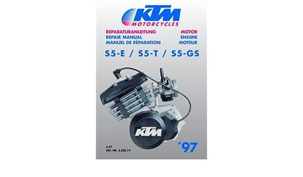 320519 1997 2001 KTM 50 Motorcycle Engine Repair Manual