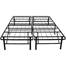 Classic Brands Hercules Heavy-Duty 14-Inch Platform Metal Bed Frame | Mattress Foundation, California King