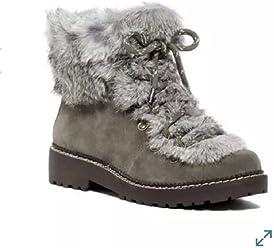 9fcdaa72482e Arturo Chiang Women s Philippa Rabbit Fur Hiking Boot